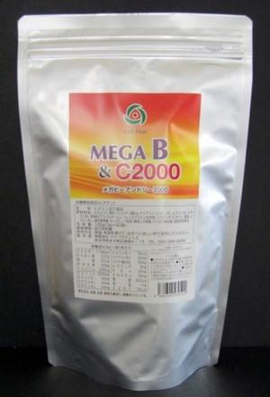 MEGA B&C2000 3g×60包