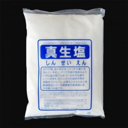 「にがり」のタンパク質凝固作用を無害化した真生塩 1000g